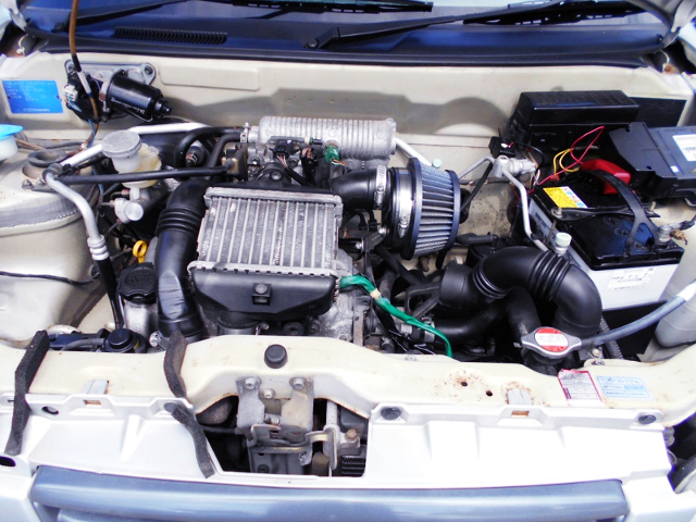 K6A TWINCAM INTERCOOLER TURBO ENGINE.
