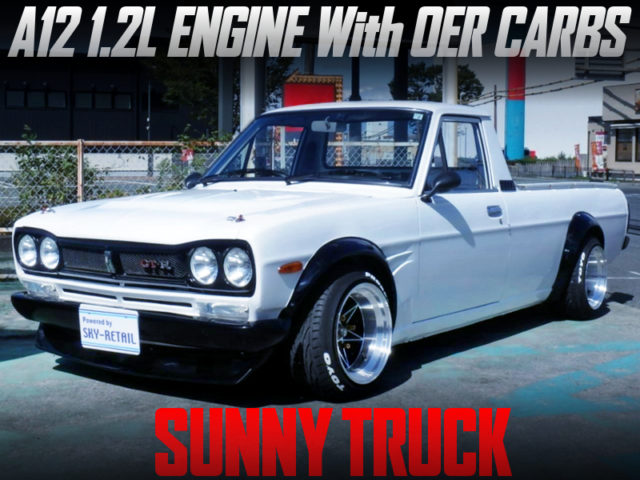 A12 1200cc With OER CARBS INTO SUNNY TRUCK With HAKOTOTA BODY KIT.