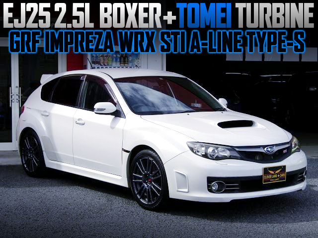 EJ25 With TOMEI TURBO And ECU REMAP INTO GRF IMPREZA HATCHBACK WRX STI A-LINE TYPE-S.