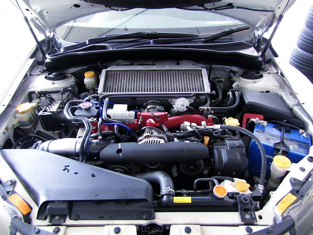 TOMEI TURBOCHARGED EJ25 2.5-Liter BOXER.
