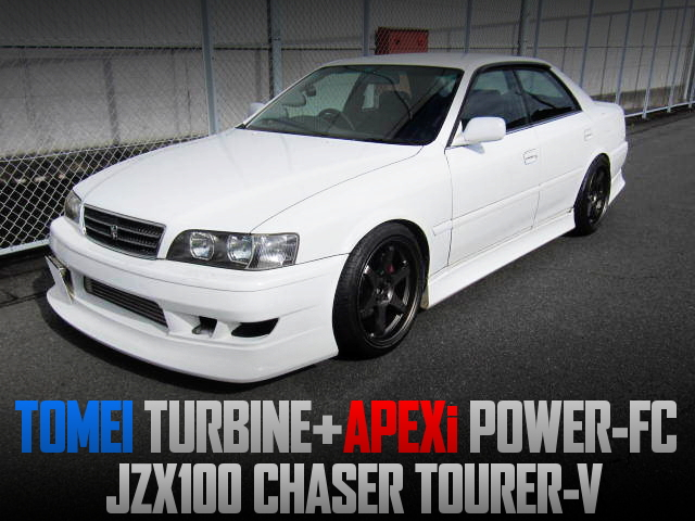 1JZ With TOMEI TURBO And POWER-FC INTO JZX100 CHASER TOURER-V.