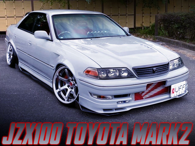 NARDO GRAY PAINTED JZX100 MARK2.