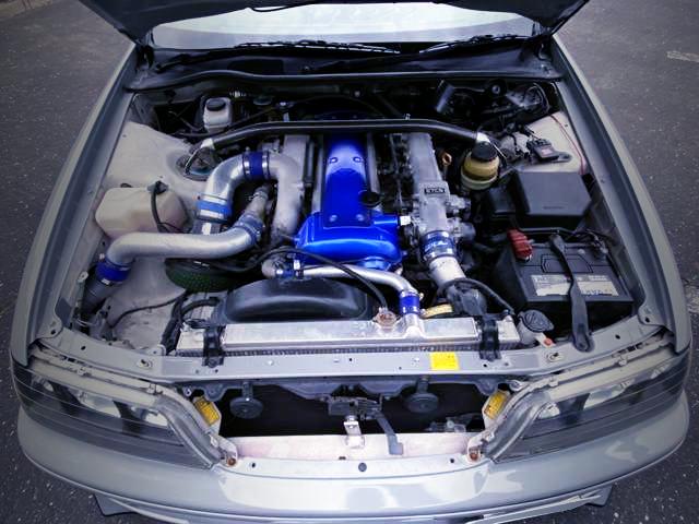 VVT-i 1JZ-GTE 2.5-Liter TURBO ENGINE.