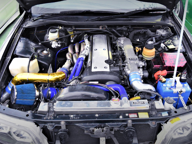VVT-i 1JZ-GTE HIGH-FLOW TURBO ENGINE.