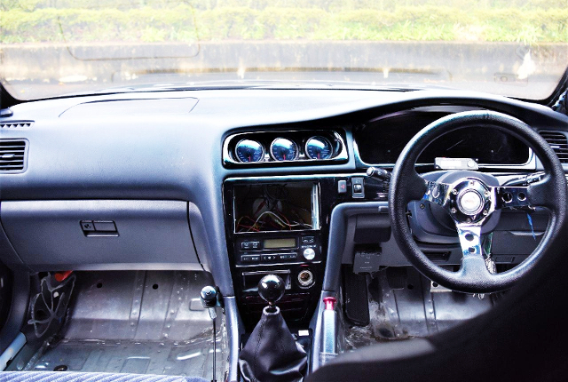 JZX100 CHASER CUSTOM DASHBOARD.