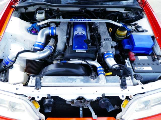 VVT-i 1JZ 2.5-Liter TURBO ENGINE.