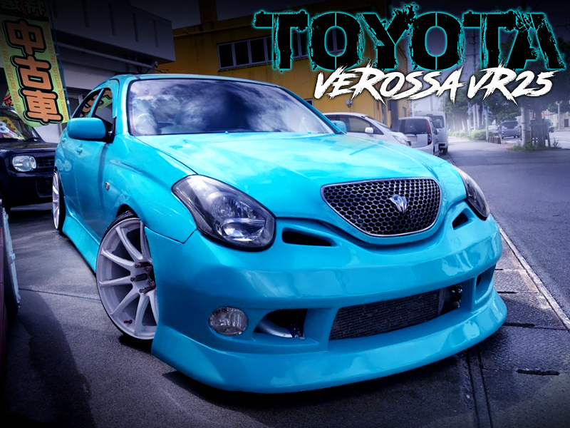 TIFFANY BLUE PAINT OF VEROSSA VR25.