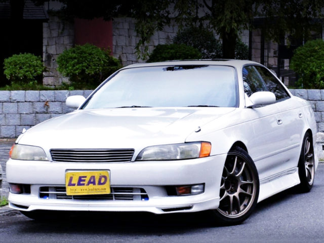 FRONT EXTERIOR OF JZX90 MARK2 TOURER V.