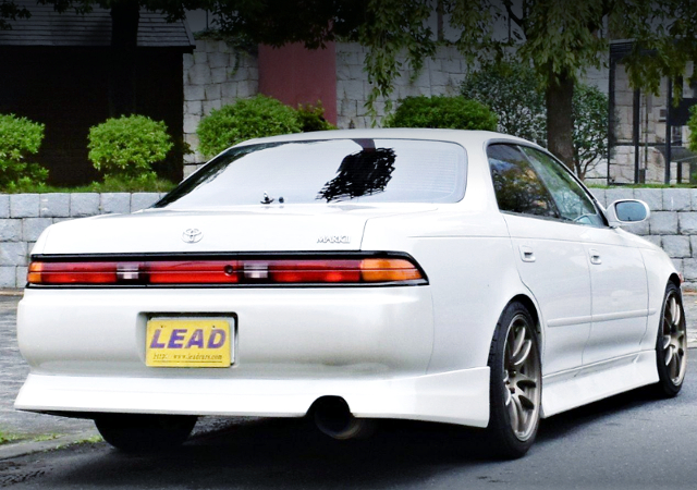 REAR EXTERIOR OF JZX90 MARK2 TOURER V.
