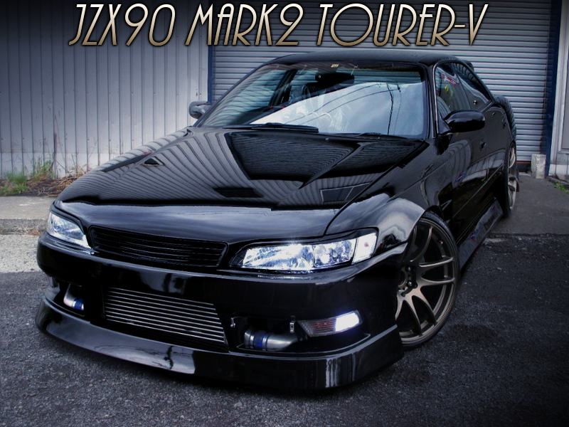 BN-SPORTS BODY KIT ON JZX90 MARK2 TOURER-V.