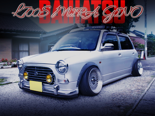 STANCE And CAMBER MODIFIED TO L700S MIRA GINO.