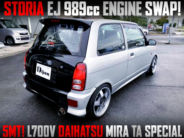 STORIA EJ 989cc ENGINE SWAP TO L700V MIRA TA SPL.