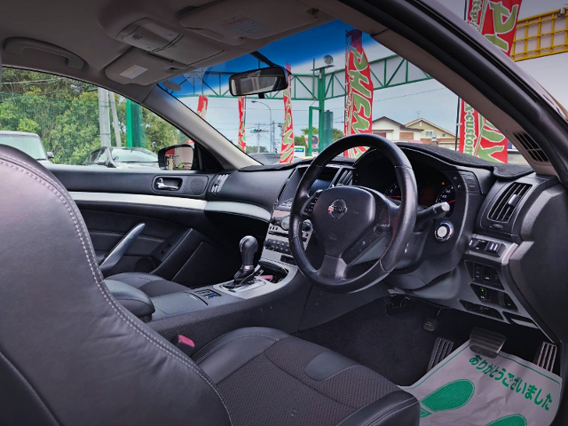 V36 SKYLINE COUPE INTERIOR.
