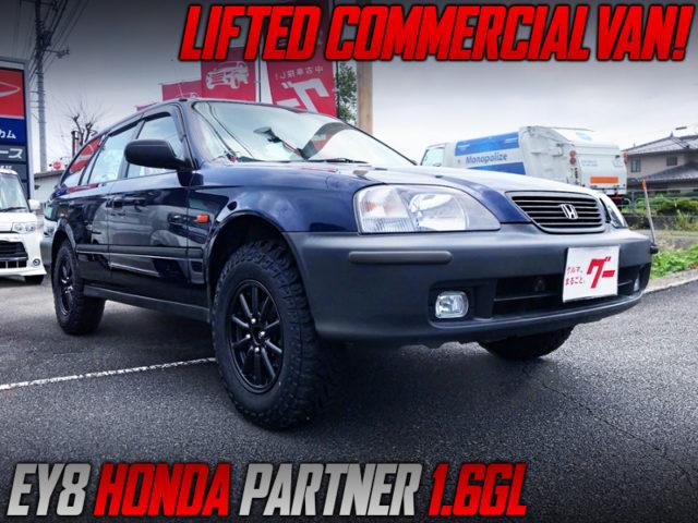 LIFTED EY8 HONDA PARTNER GL.