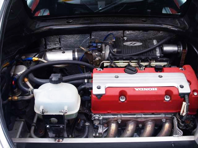 K20A i-VTEC SUPERCHARGER ENGINE.