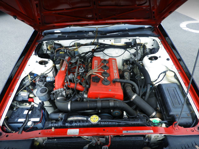 FJ20ET 2-Liter TURBO ENGINE.