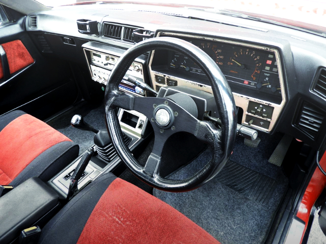 INTERIOR DASHBOARD OF DR30 SKYLINE 2000 TURBO RS-X.