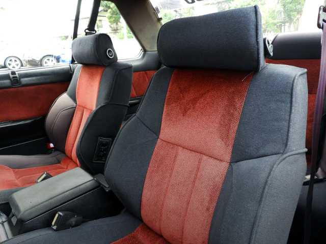 INTERIOR SEATS OF DR30 SKYLINE 2000 TURBO RS-X.