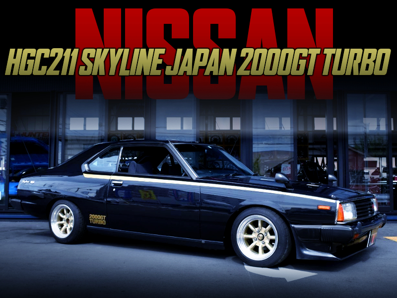 MACHINE-X COLOR OF HGC211 SKYLINE JAPAN 2000GT TURBO.