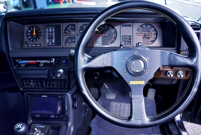 DRIVER'S DASHBOARD AND SPEED CLUSTER.