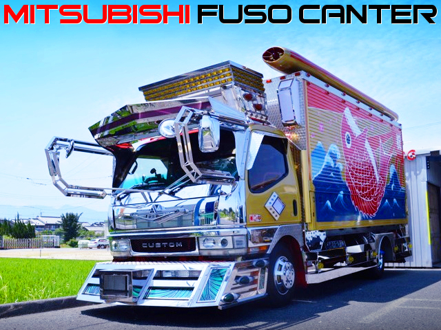 DECOTORA BUILT OF MITSUBISHI FUSO CANTER.