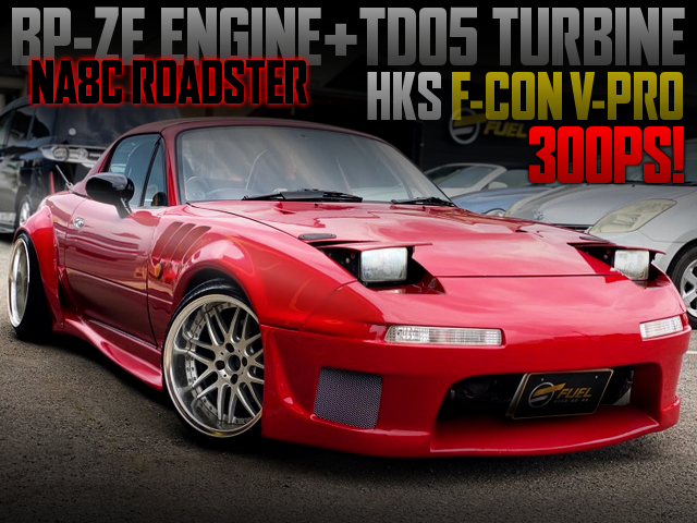 BP-ZE With TD05 TURBO And 6MT INTO NA8C ROADSTER WIDEBODY.
