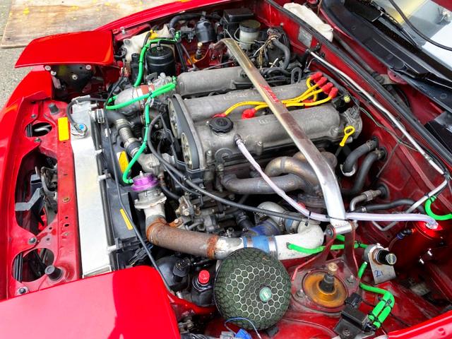 BP-ZE 1.8-Liter TD05 TURBO ENGINE.