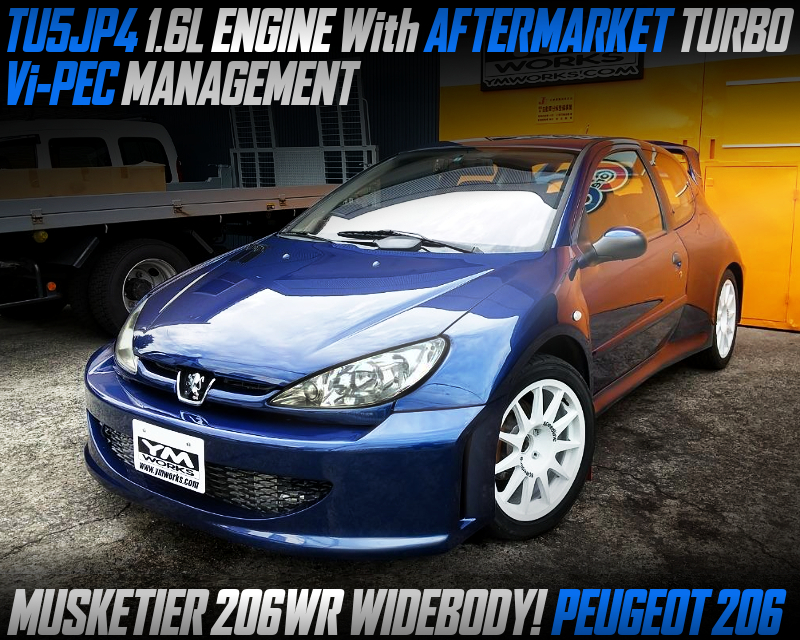 TURBOCHARGED PEUGEOT 206 WIDEBODY.