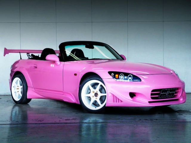 FRONT EXTERIOR OF AP1 S2000 To PINK PAINT.