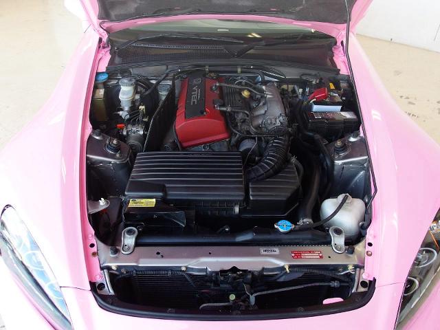 F20C 2-Liter VTEC ENGINE.