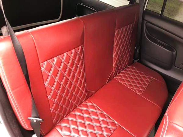 EXTEND BACKSEAT COVER.