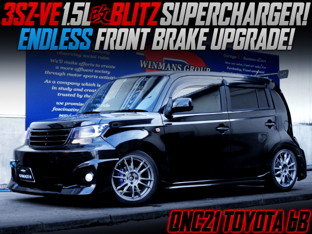 3SZ-VE BLITZ SUPERCHARGED QNC21 TOYOTA bB.