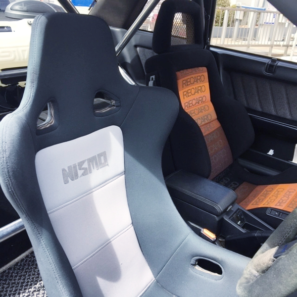 DRIVER'S NISMO FULL BUCKET SEAT.