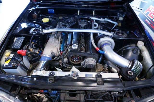 RB26 TO4R SINGLE TURBO ENGINE.