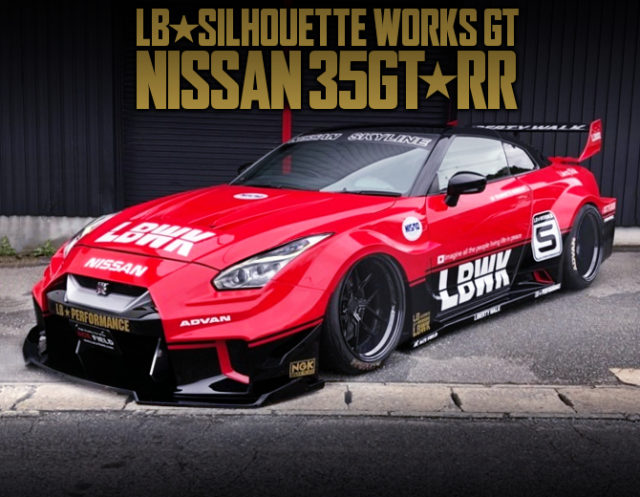TOMICA LIVERY And LB-SILHOUETTE WIDEBODY ONTO R35 NISSAN GT-R.