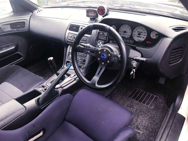 S14 SILVIA CUSTOM DASHBOARD.