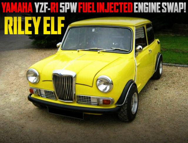 YAMAHA R1 5PW 998cc ENGINE SWAPPED RILEY ELF MINI.