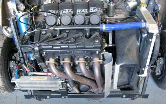 YAMAHA R1 5PW FUEL INJECTED 998cm BIKE ENGINE.