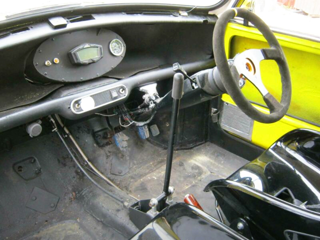 INTERIOR IF DASHBOARD AND DASH METER,