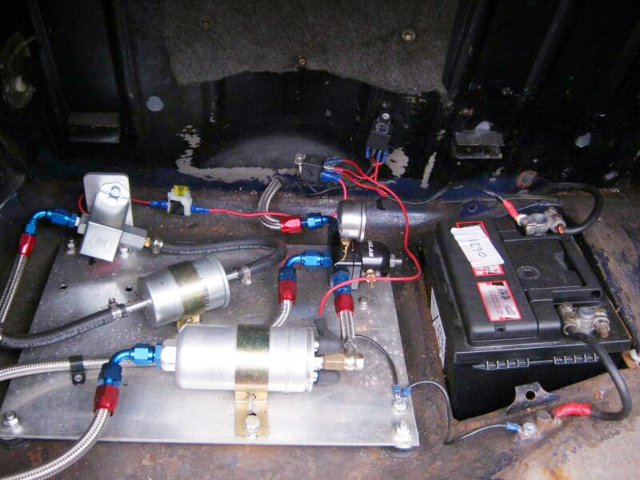 R1 CONVERSION OF FUEL SYSTEM.