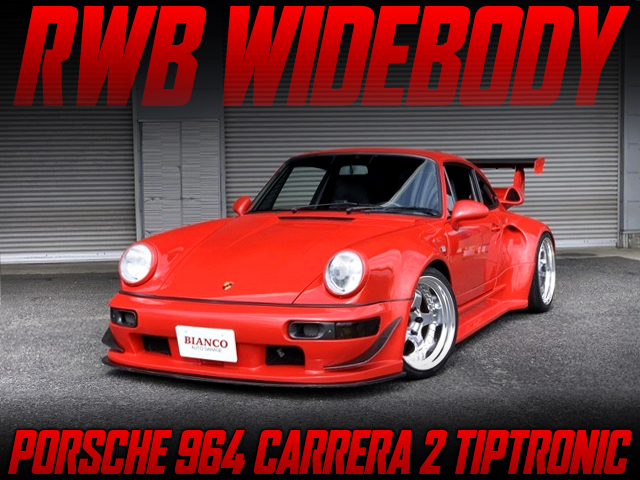 RWB WIDEBODY BUILT OF PORSCHE 964 CARRERA 2 TIP.