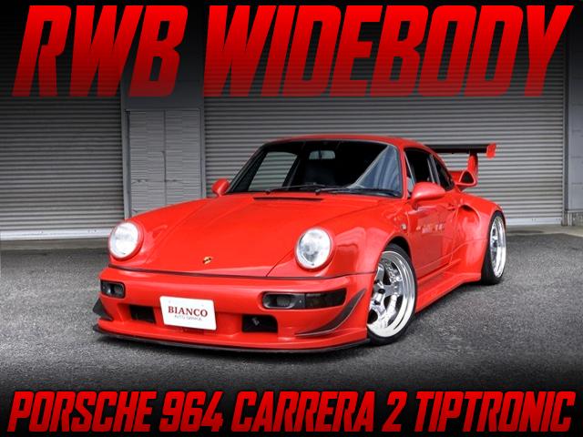 RWB WIDEBODY BUILT OF PORSCHE 964 CARRERA 2 TIP.