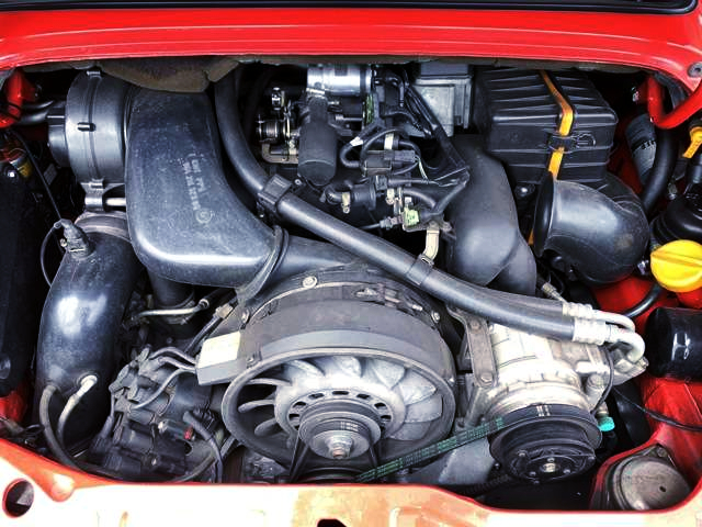 FLAT-6 3600cc ENGINE OF PORSCHE 964 CARRERA TIP MOTOR.