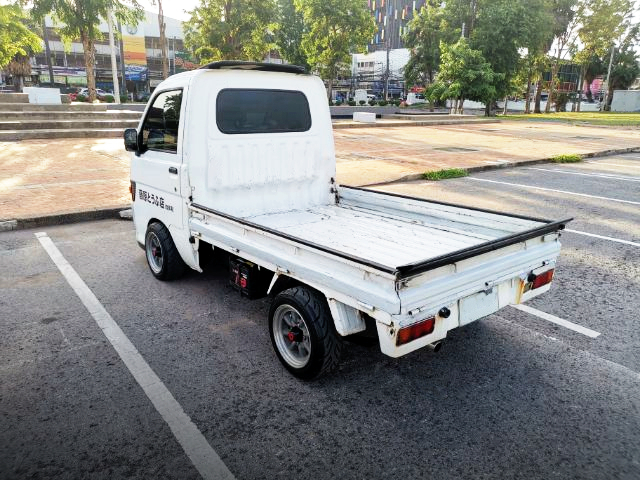 REAR EXTERIOR OF S100P HIJET TO INITIAL-D STYLE.