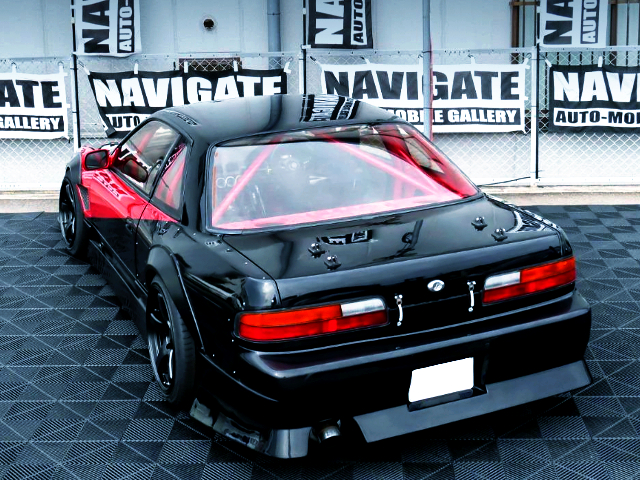 REAR EXTERIOR OF S13 SILVIA TO URAS WORKS ARCH KIT.