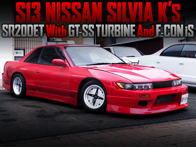 SR20DET With GT-SS TURBO And F-CON iS INTO S13 SILVIA Ks.