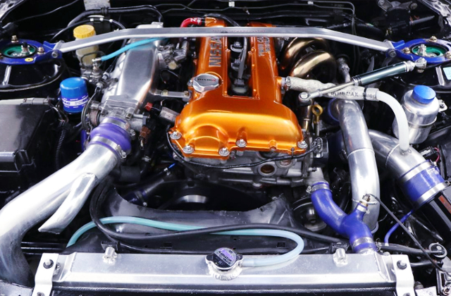 SR20DET GT-RS TURBO ENGINE.