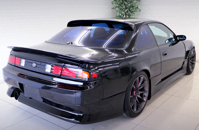 REAR EXTERIOR OF S14 SILVIA KOUKI TAIL.