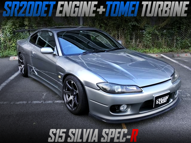 TOMEI TURBOCHARGED S15 SILVIA WIDEBODY.