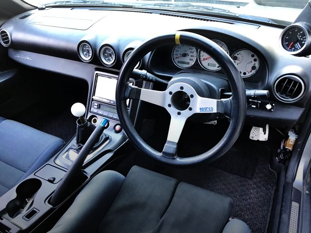 SPARCO STEERING AND S15 DASHBOARD.